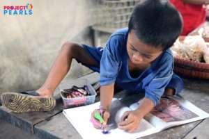 A future artist!