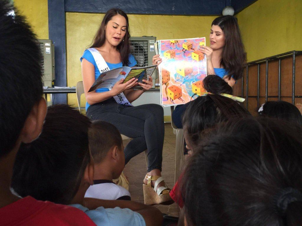 Storytelling with Bb Pilipinas beauties!