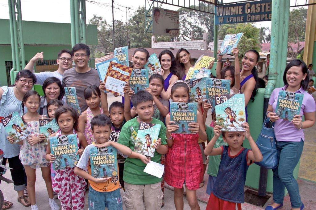 Books for Payatas kids