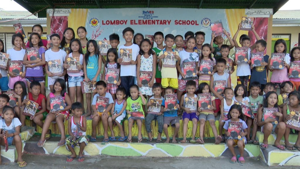 The children of Brgy. Lomboy