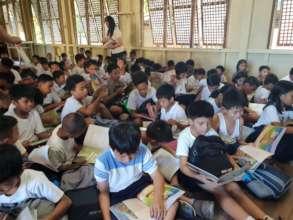 Bookgiving in Cebu City