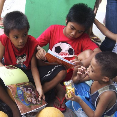 Reading and sharing books
