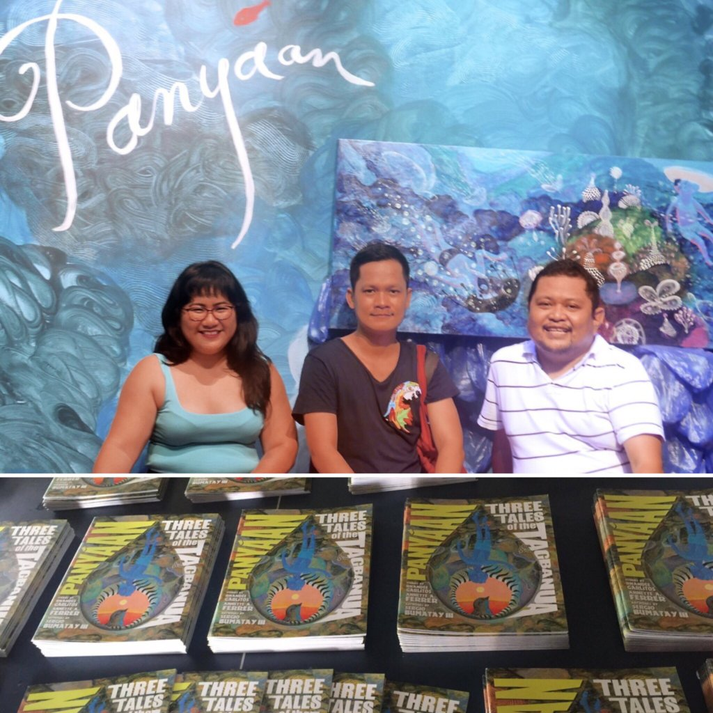 "The artist and authors behind ""Panyaan""."
