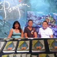 """The artist and authors behind """"Panyaan""""."""