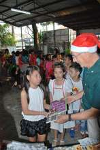 Bookgiving at a YMCA in Makati City