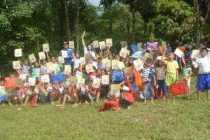 Bookgiving at Imbang-Caliban Watershed in Bacolod