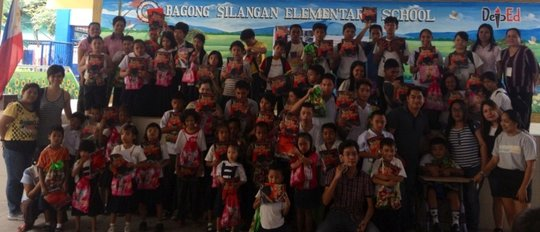 Books for Bagong Silangan Elementary School