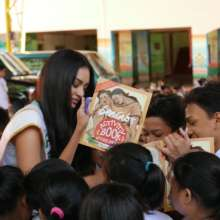 Bookgiving in a Quezon City Urban Poor Community
