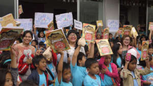 Bookgiving in Baguio City