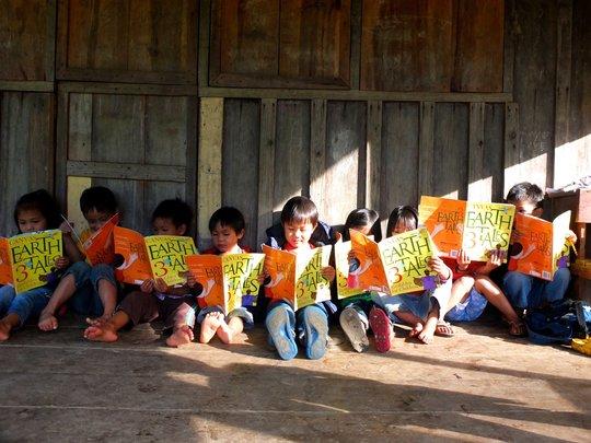 CANVAS books delivered by Cordillera Trust