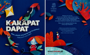 Front and Back Covers for Karapat Dapat