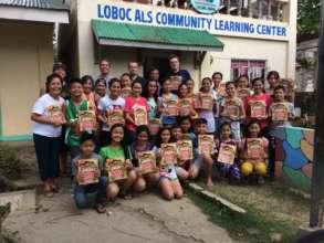 Books for the Loboc Children's Choir of Bohol