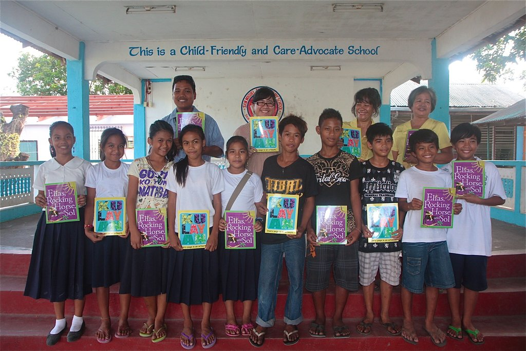 Donating to a public school in Zambales