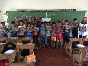 Books for students in Mambusao, Capiz
