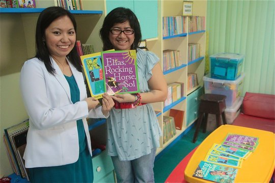 Donating books to Philippine General Hospital