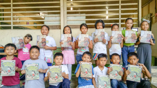 Bookgiving in Jaro, Iloilo City