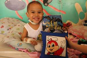 Ailing children find comfort and joy in the books