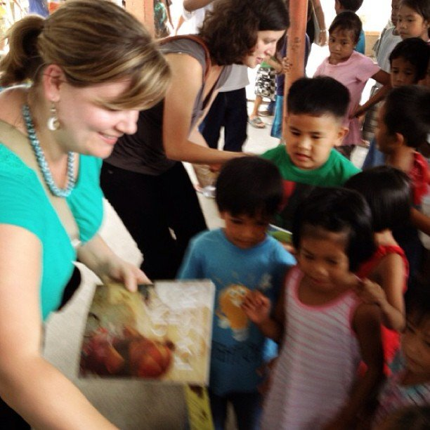 Reports On Give Books To Children In The Philippines