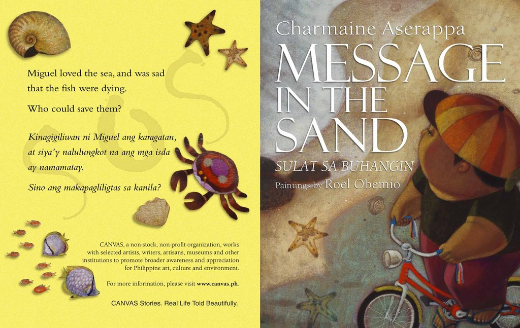 """""""Message in the Sand"""" Cover"""