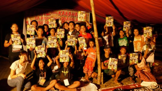Some of the Lumad children