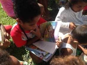 Our storybooks help children learn to love books!
