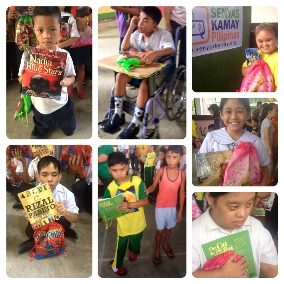 Books for differently-abled children and students