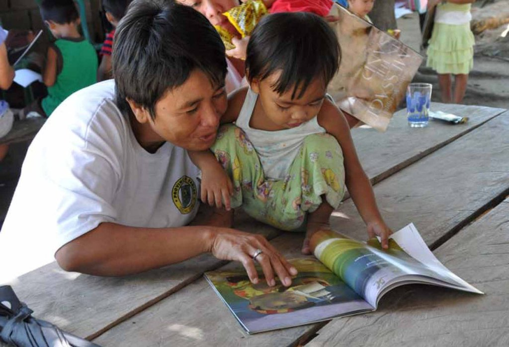 Learning to read and to love books