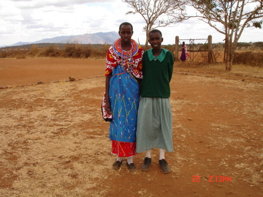 Providing 400 Maasai girls with menses kits