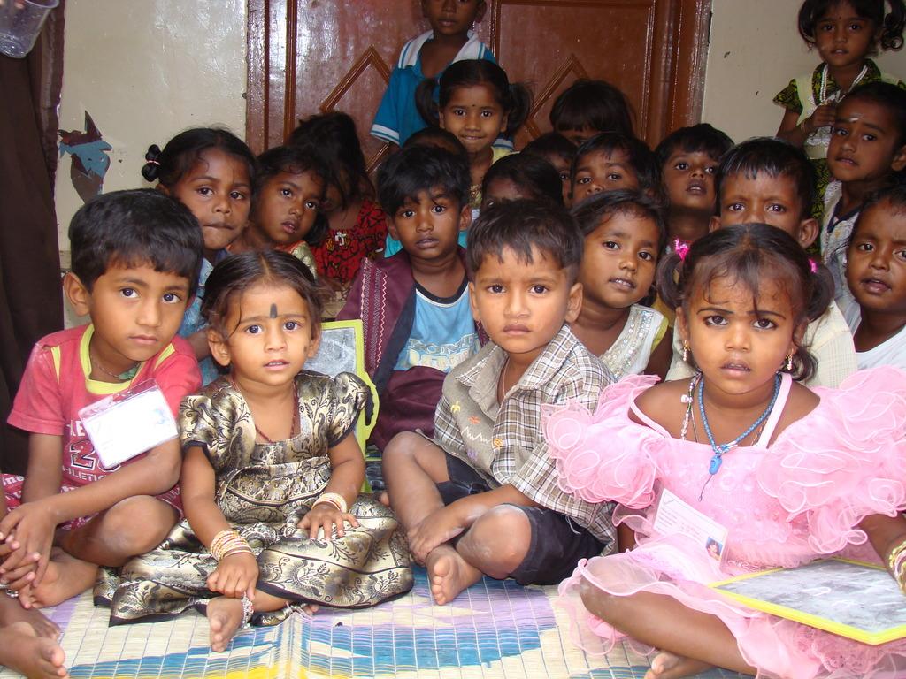 Children at an Anganwadi in Bangalore