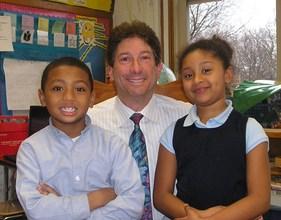 Bruce Pollock with O'Naiya and Emmanuel