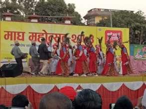 Maghi Celebration in Ghorahi