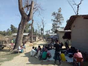 Meeting with women @ Sapana Shibir, Kailari
