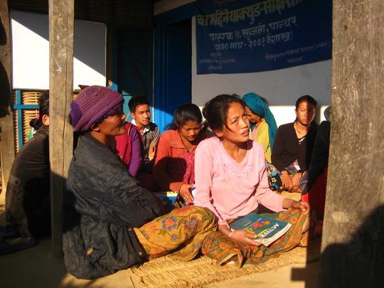 Limbu Literacy Class, Yashok, Panchthar