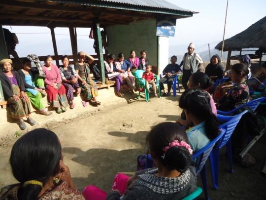 Community Awareness Committee Meeting, Phidim