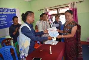 Graduation Certificate to Participants