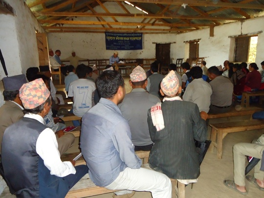 Community Meeting, Panchthar