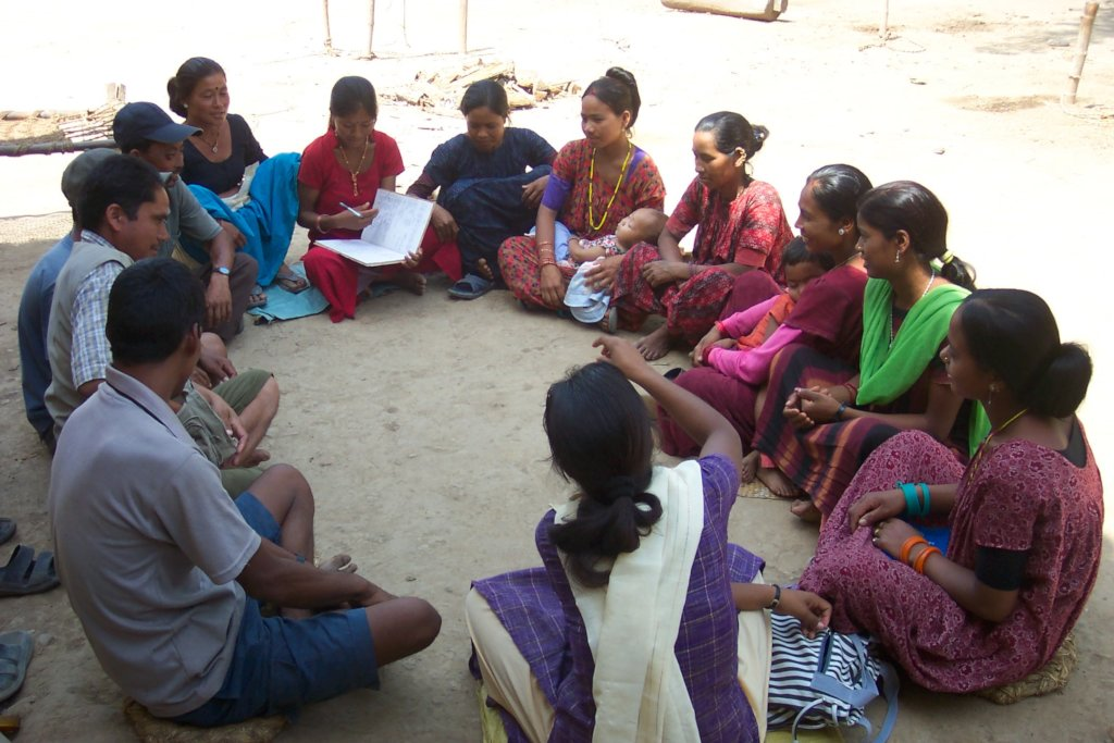 Community Group Meeting in Dang