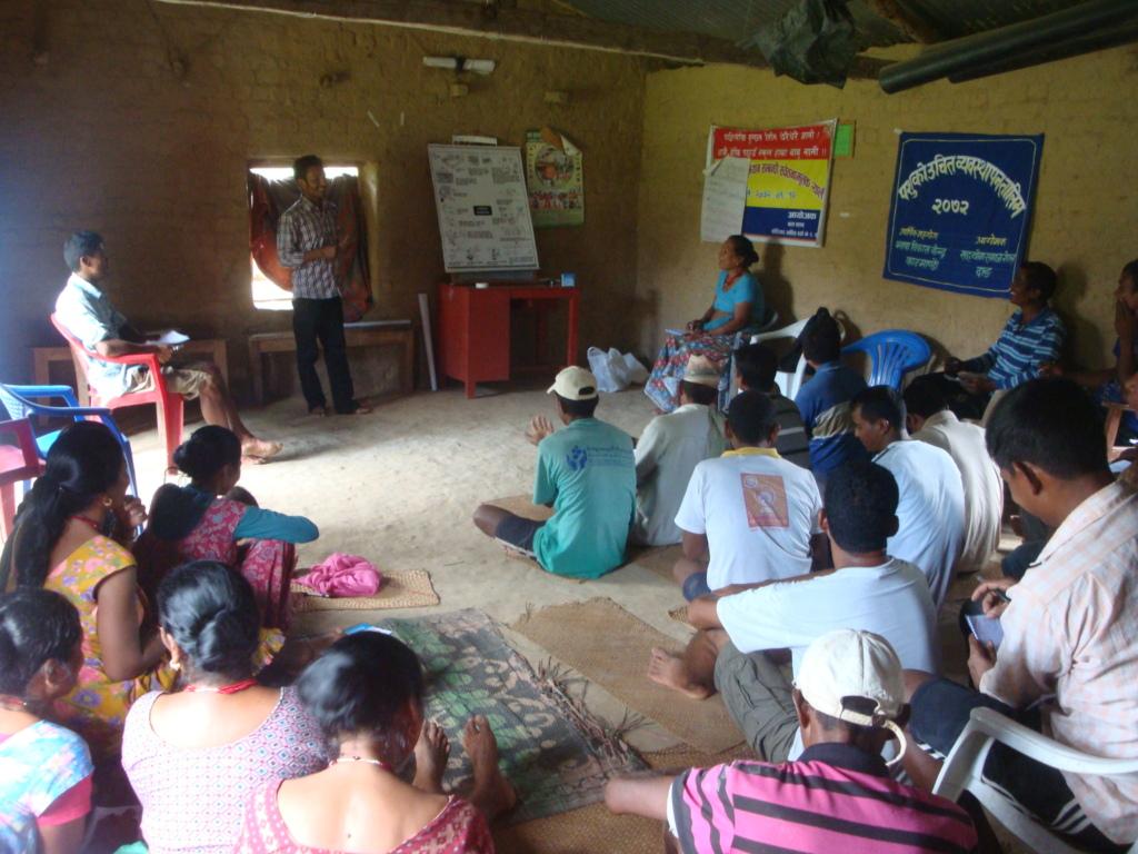 Trainer Facilitating the Livestock Training