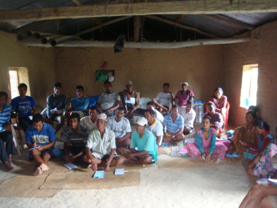 Livestock Training Participants