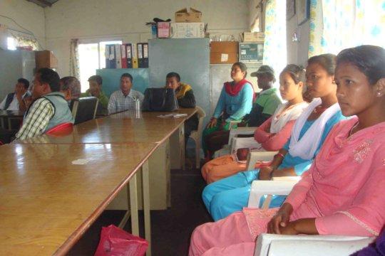 Participants in the program