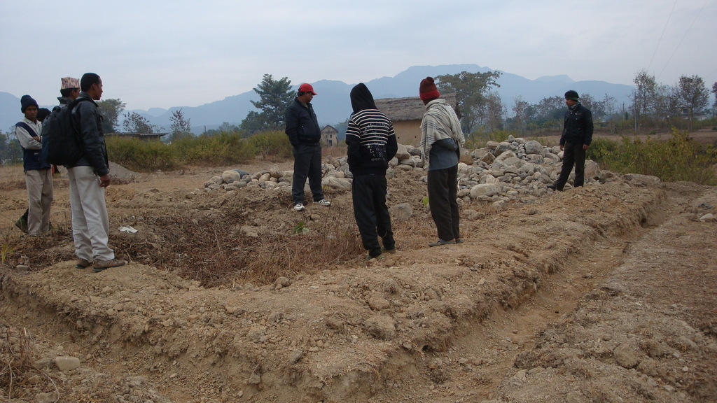 The local government donated land for NGO