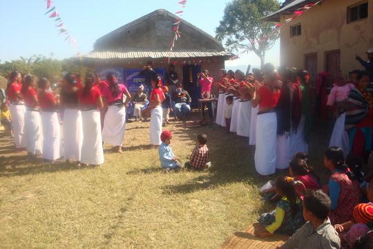 Celebrating International Language Day at new CLC