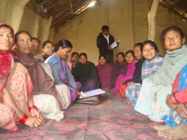 Self-help Group Management training participants