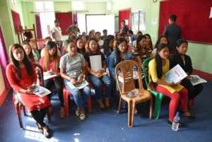 Limbu Script Class Graduation Program