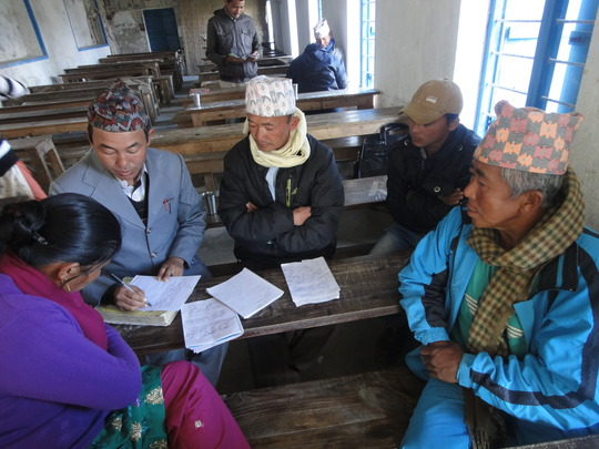 Limbu Material Development Workshop