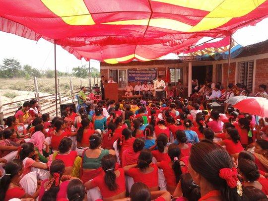 Tharu Book Launch & Office Inaguration Program
