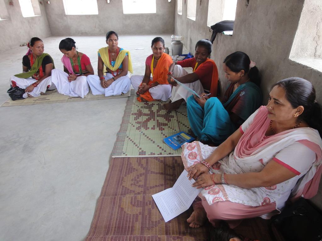 Sharing and Editing Tharu stories