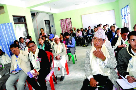 Limbu Literature Development Workshop in Phidim