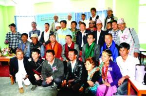 YA-Nepal team Photo in Phidim