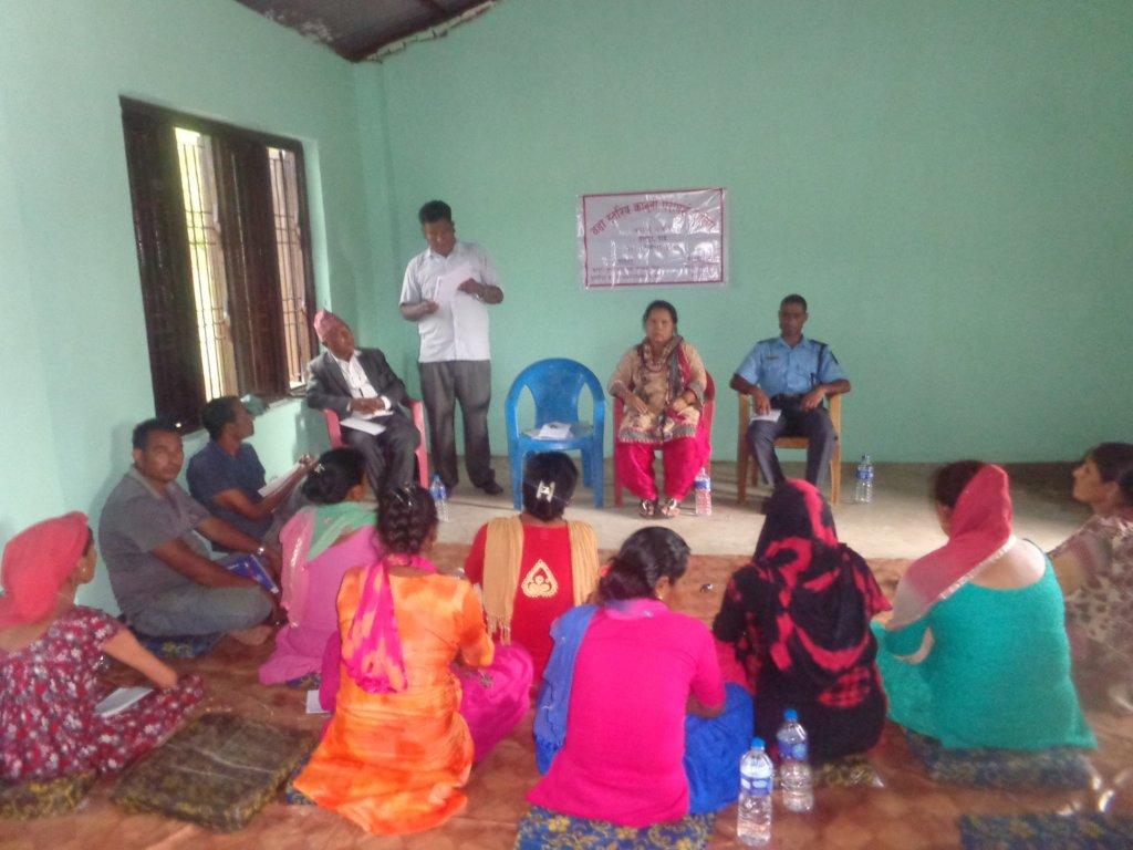 Literacy Facilitator training in Babai Gaunpalika